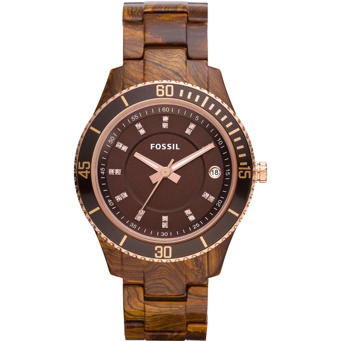 orologio solo tempo donna Fossil ES3088