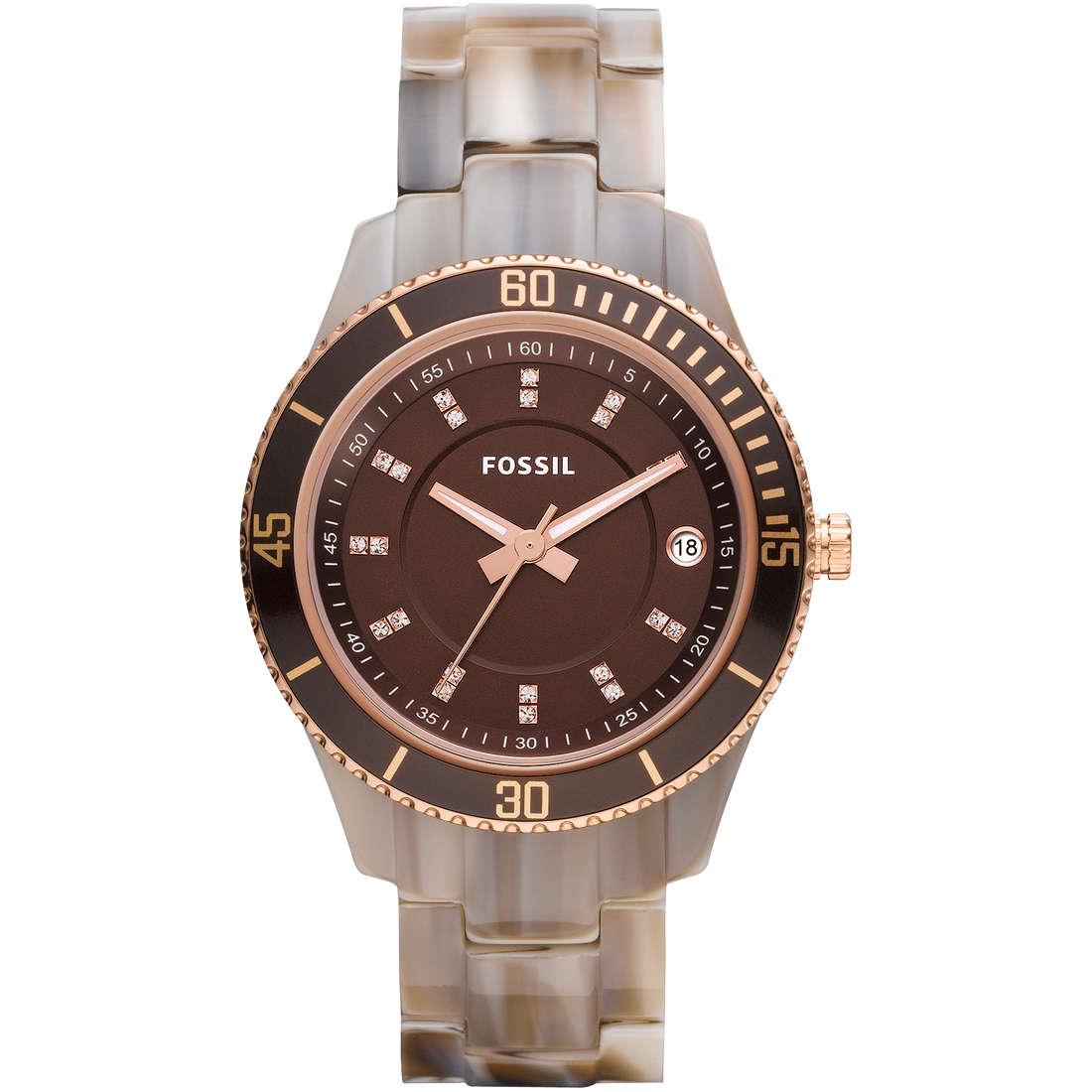 orologio solo tempo donna Fossil ES3090