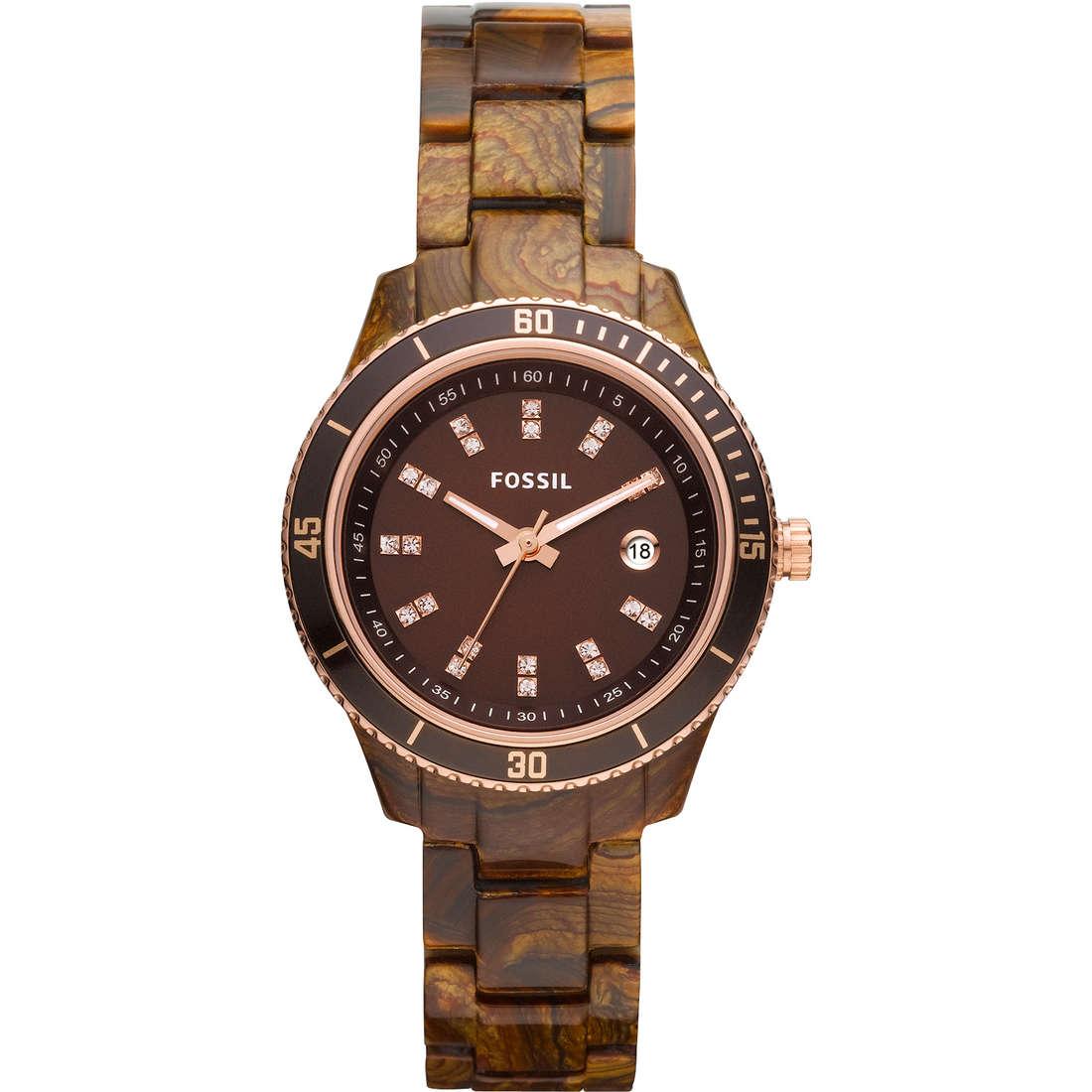 orologio solo tempo donna Fossil ES3092