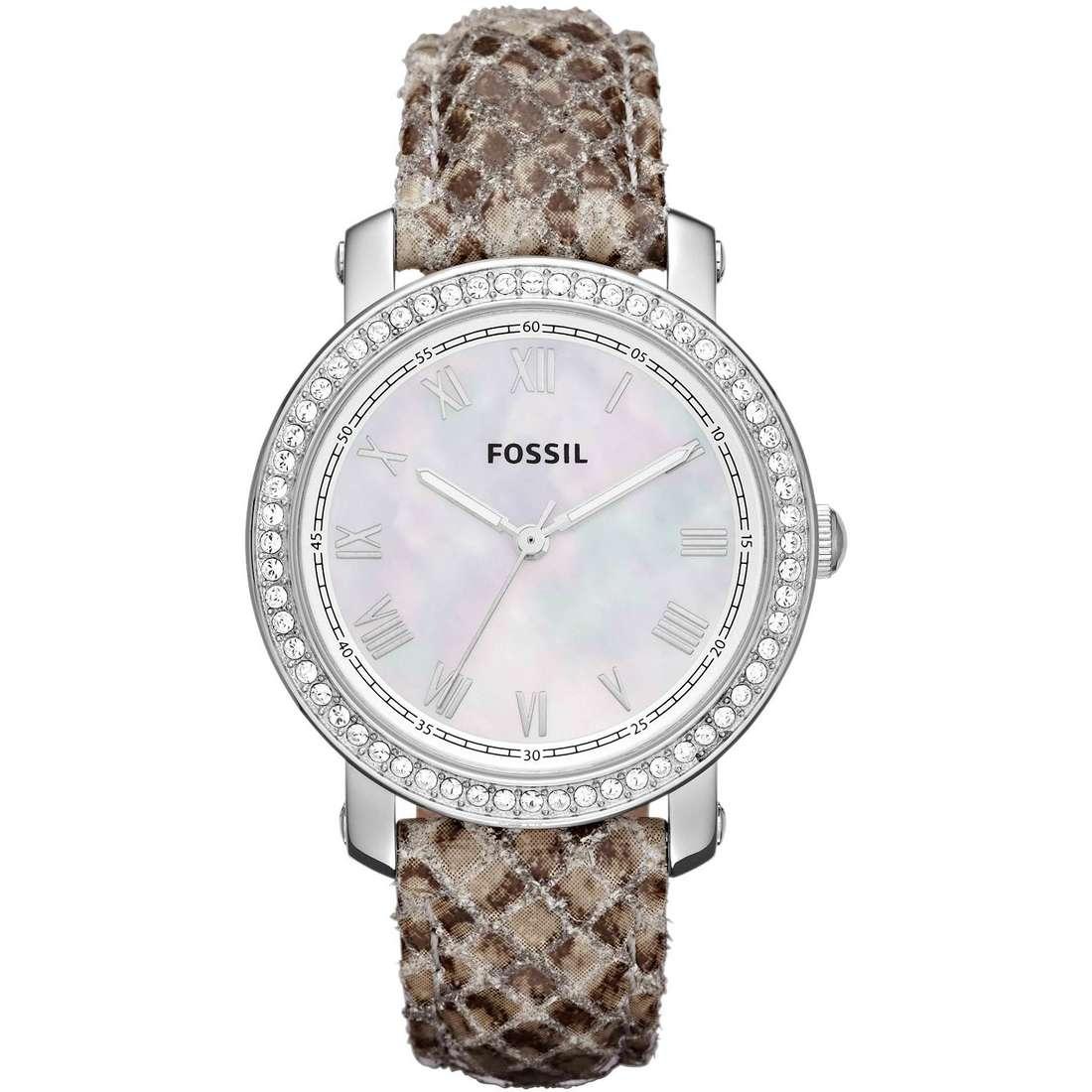 orologio solo tempo donna Fossil ES3116