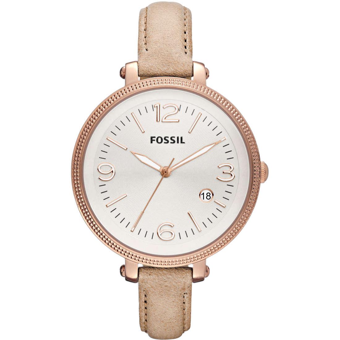 orologio solo tempo donna Fossil ES3133