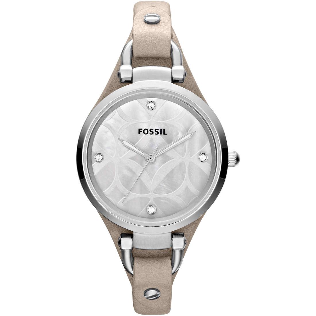 orologio solo tempo donna Fossil ES3150