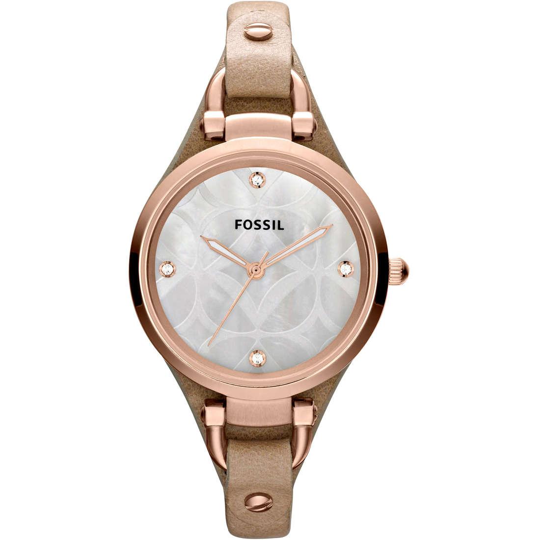 orologio solo tempo donna Fossil ES3151