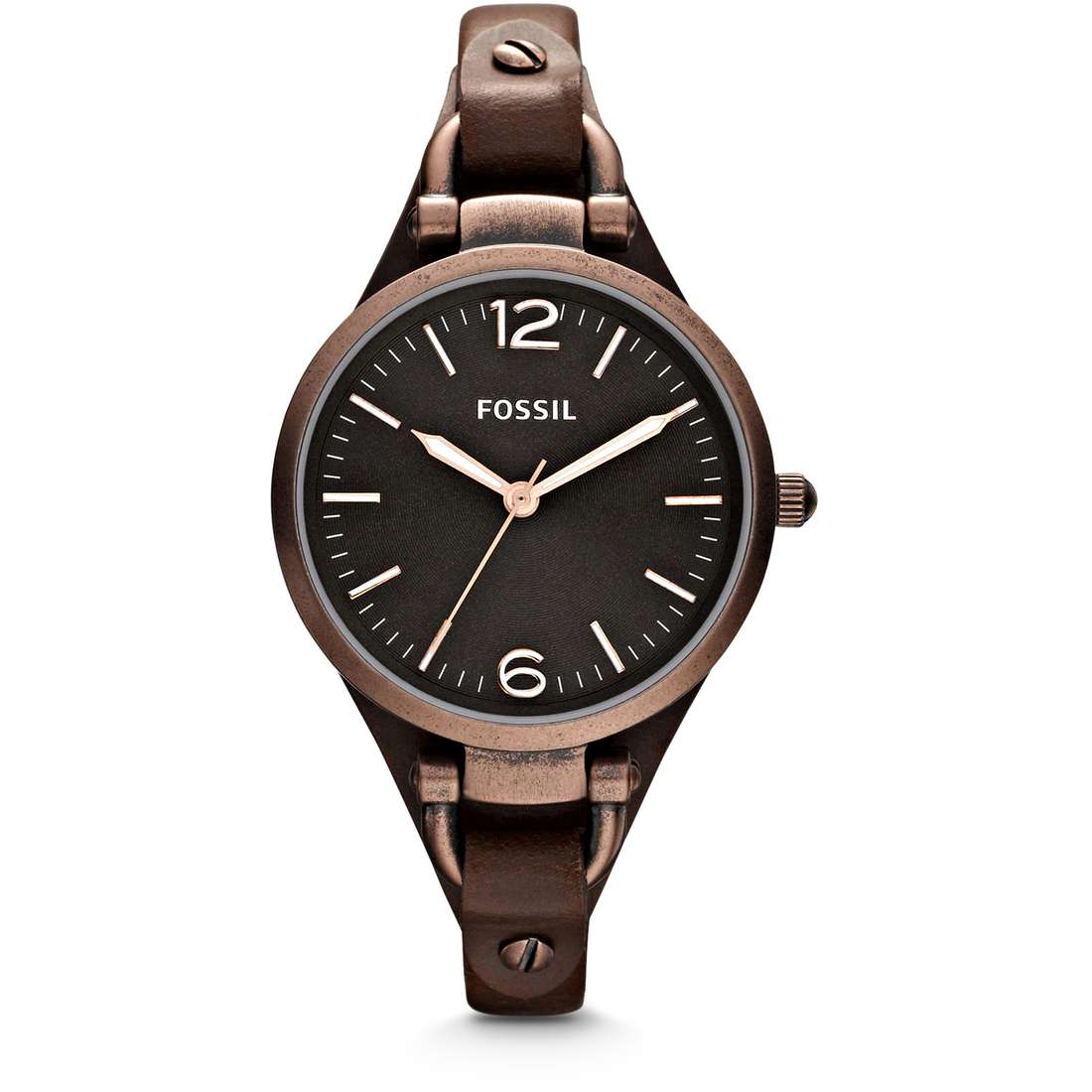 orologio solo tempo donna Fossil Georgia ES3200
