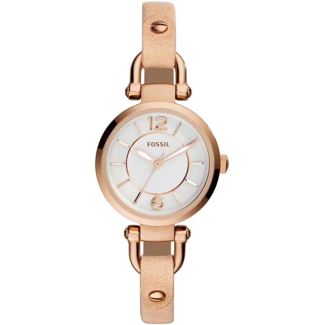 orologio solo tempo donna Fossil Georgia Mini ES3745