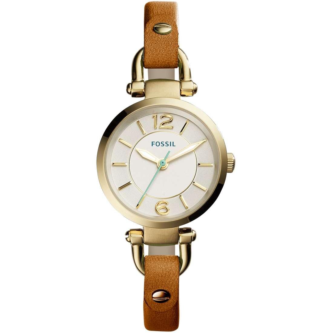 orologio solo tempo donna Fossil Georgia Mini ES4000