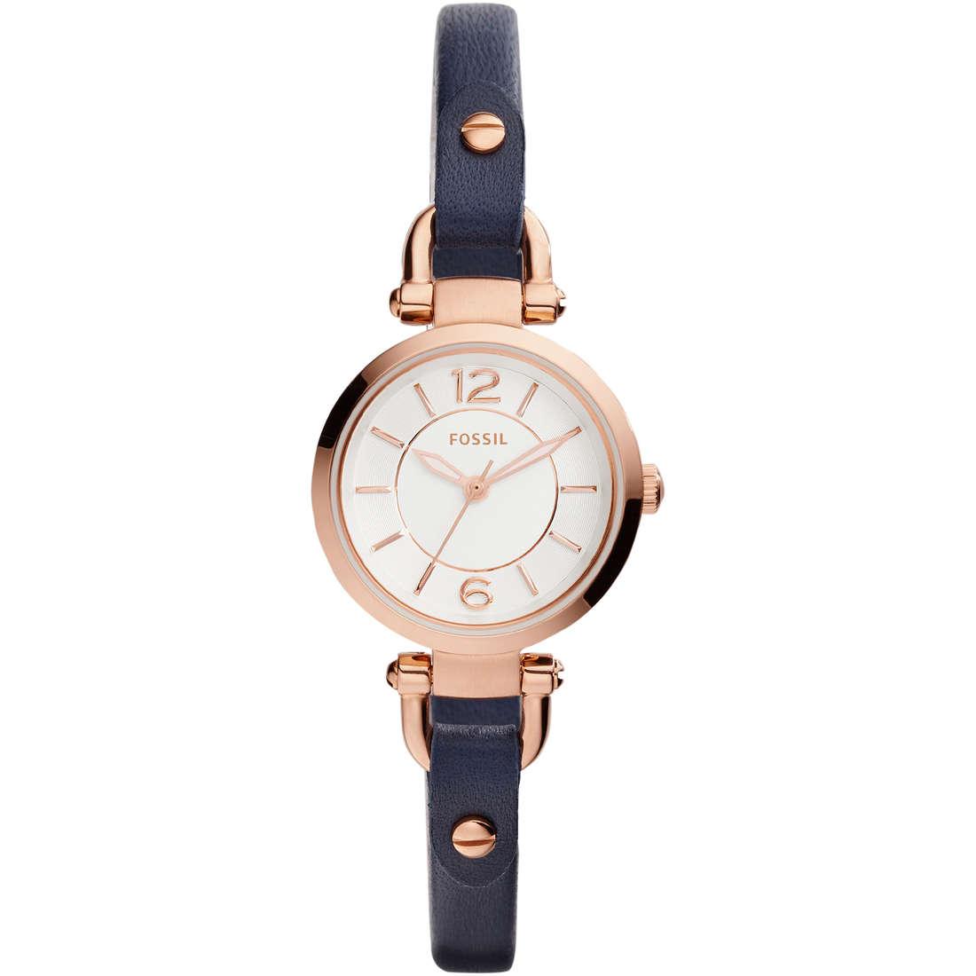 orologio solo tempo donna Fossil Georgia Mini ES4026