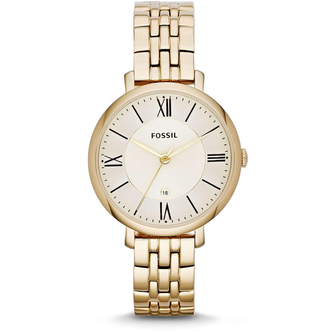 orologio solo tempo donna Fossil Jacqueline ES3434