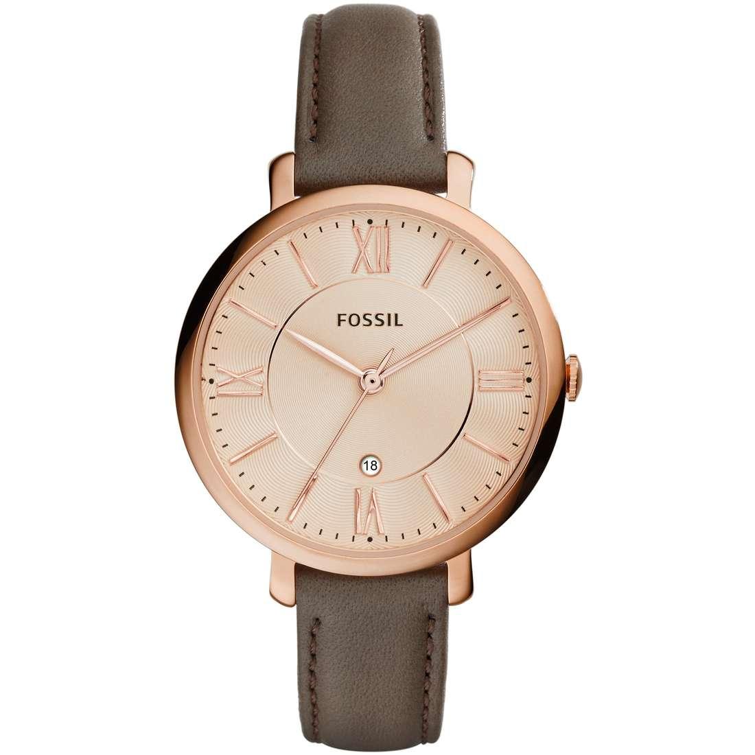 orologio solo tempo donna Fossil Jacqueline ES3707