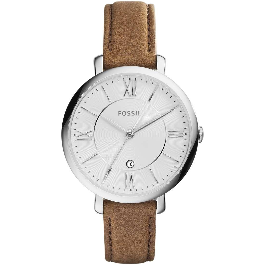 orologio solo tempo donna Fossil Jacqueline ES3708