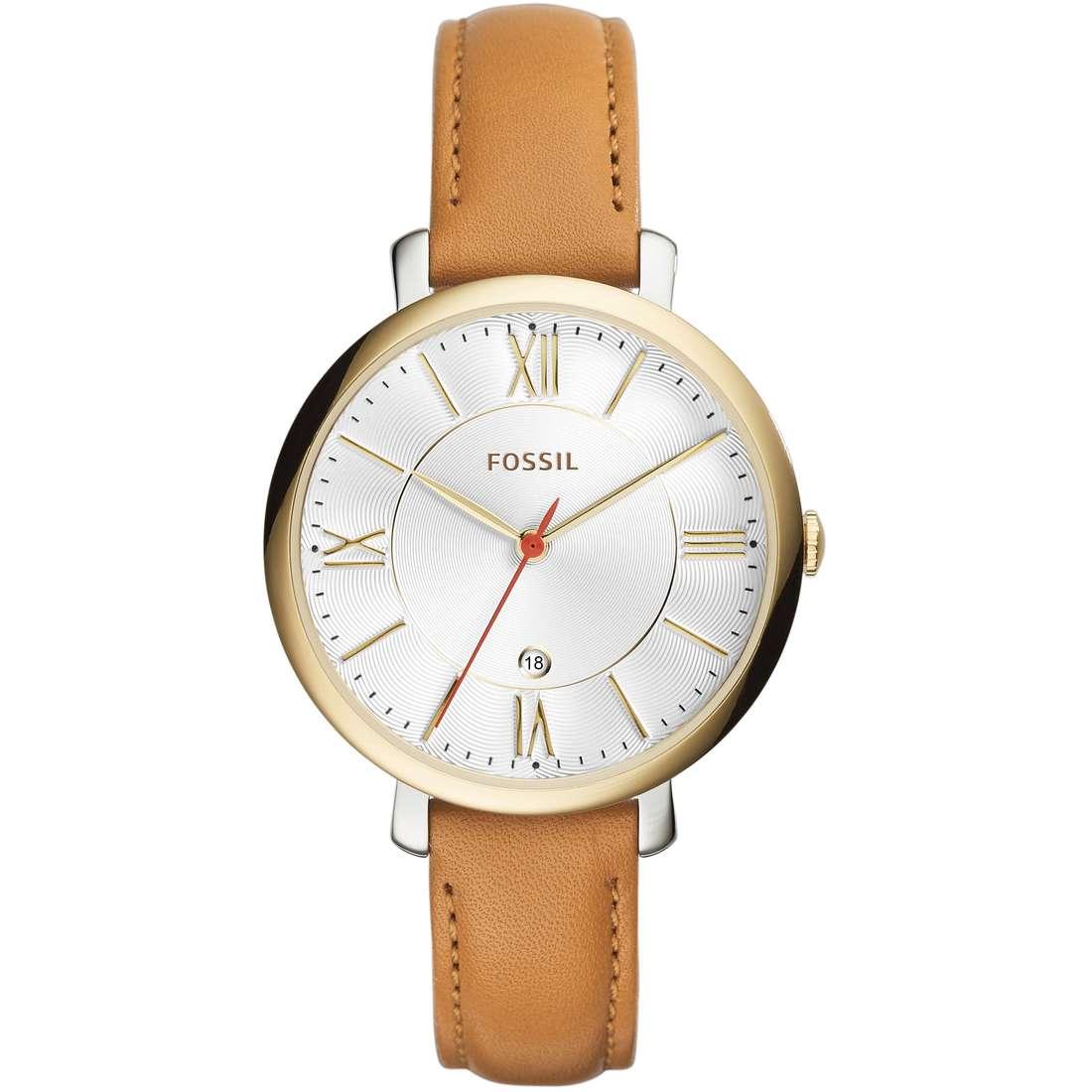 orologio solo tempo donna Fossil Jacqueline ES3737