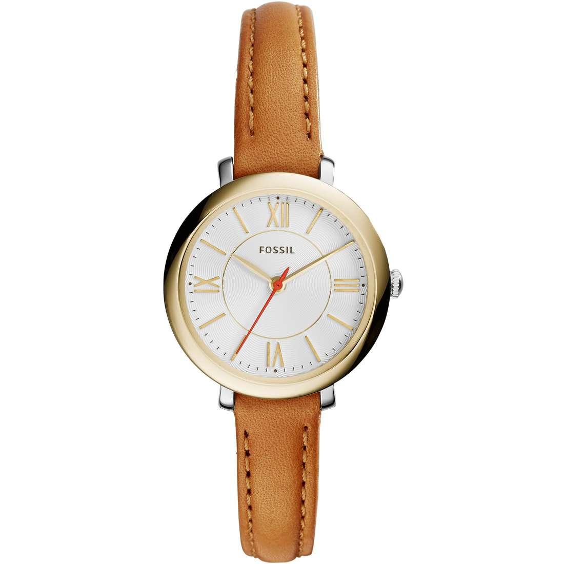 orologio solo tempo donna Fossil Jacqueline Small ES3801
