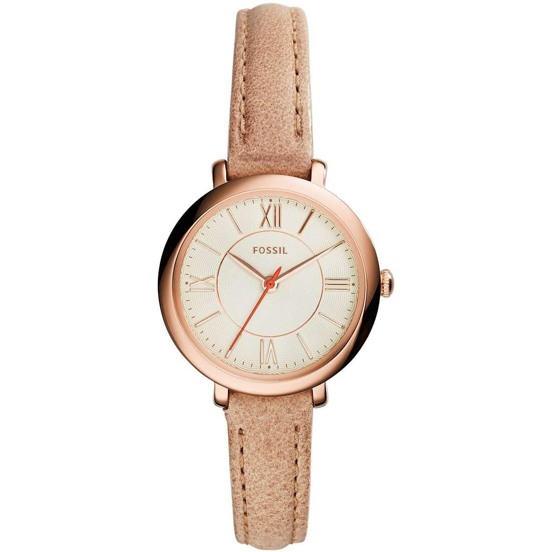 orologio solo tempo donna Fossil Jacqueline Small ES3802