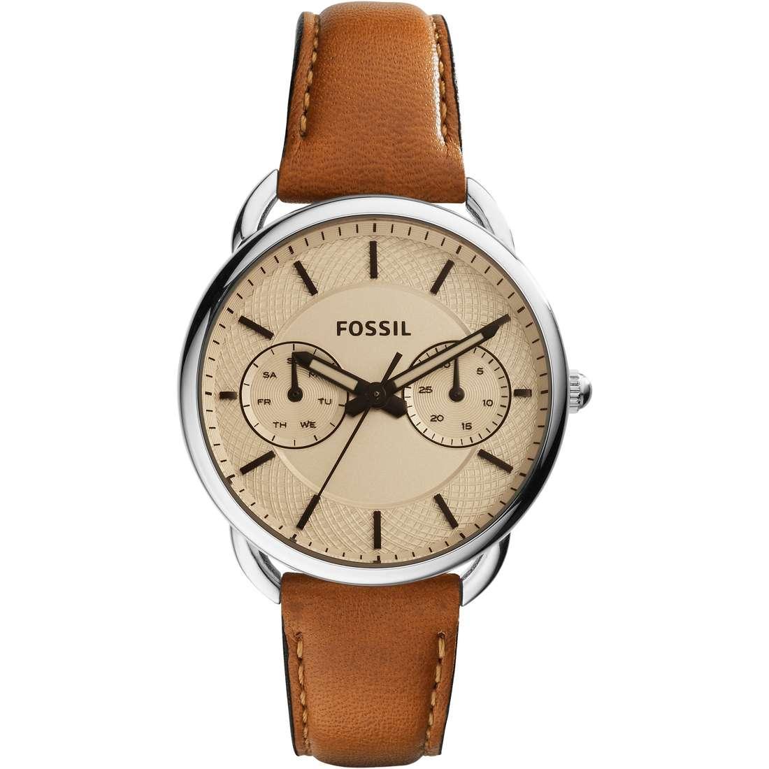 orologio solo tempo donna Fossil Tailor ES3950