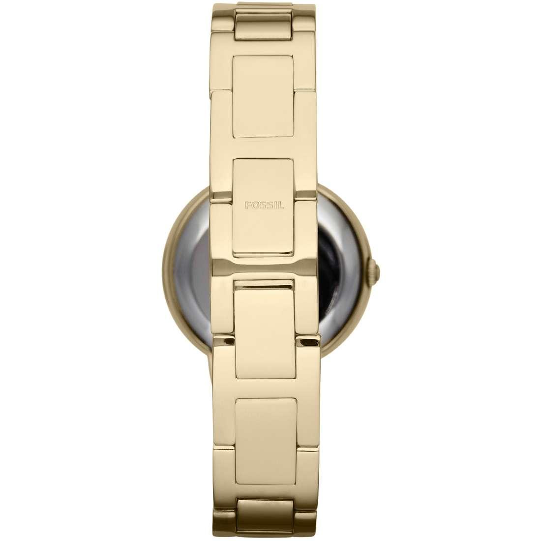 orologio solo tempo donna Fossil Virginia ES3283