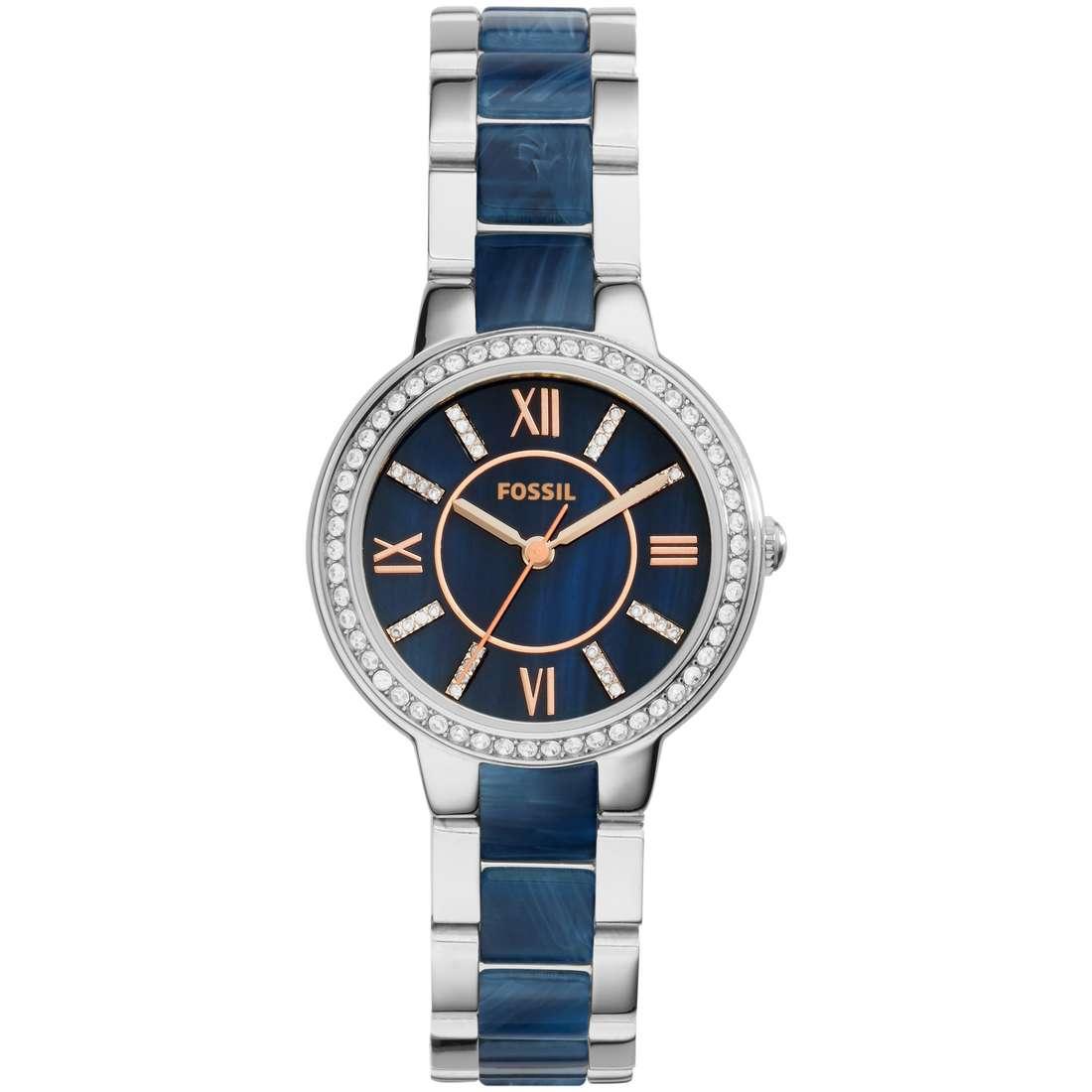 orologio solo tempo donna Fossil Virginia ES4009