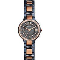 orologio solo tempo donna Fossil Virginia ES4298