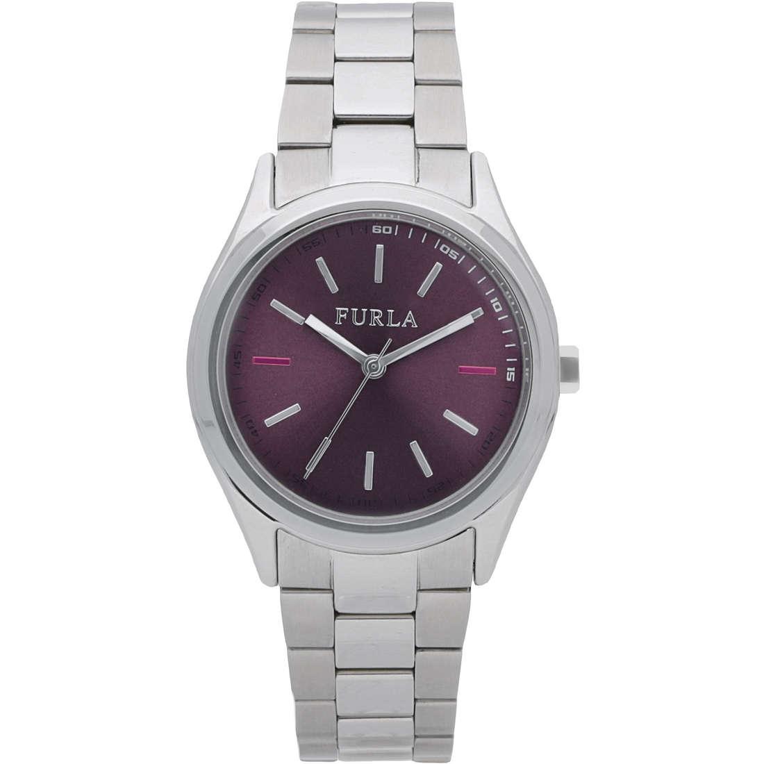 orologio solo tempo donna Furla Eva R4253101504