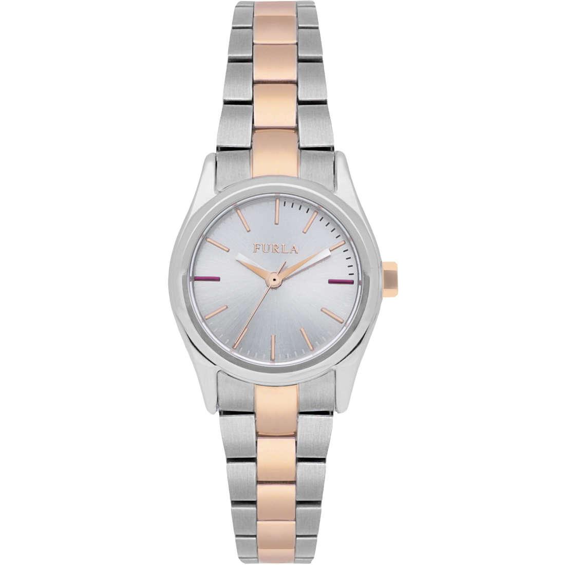 orologio solo tempo donna Furla Eva R4253101518