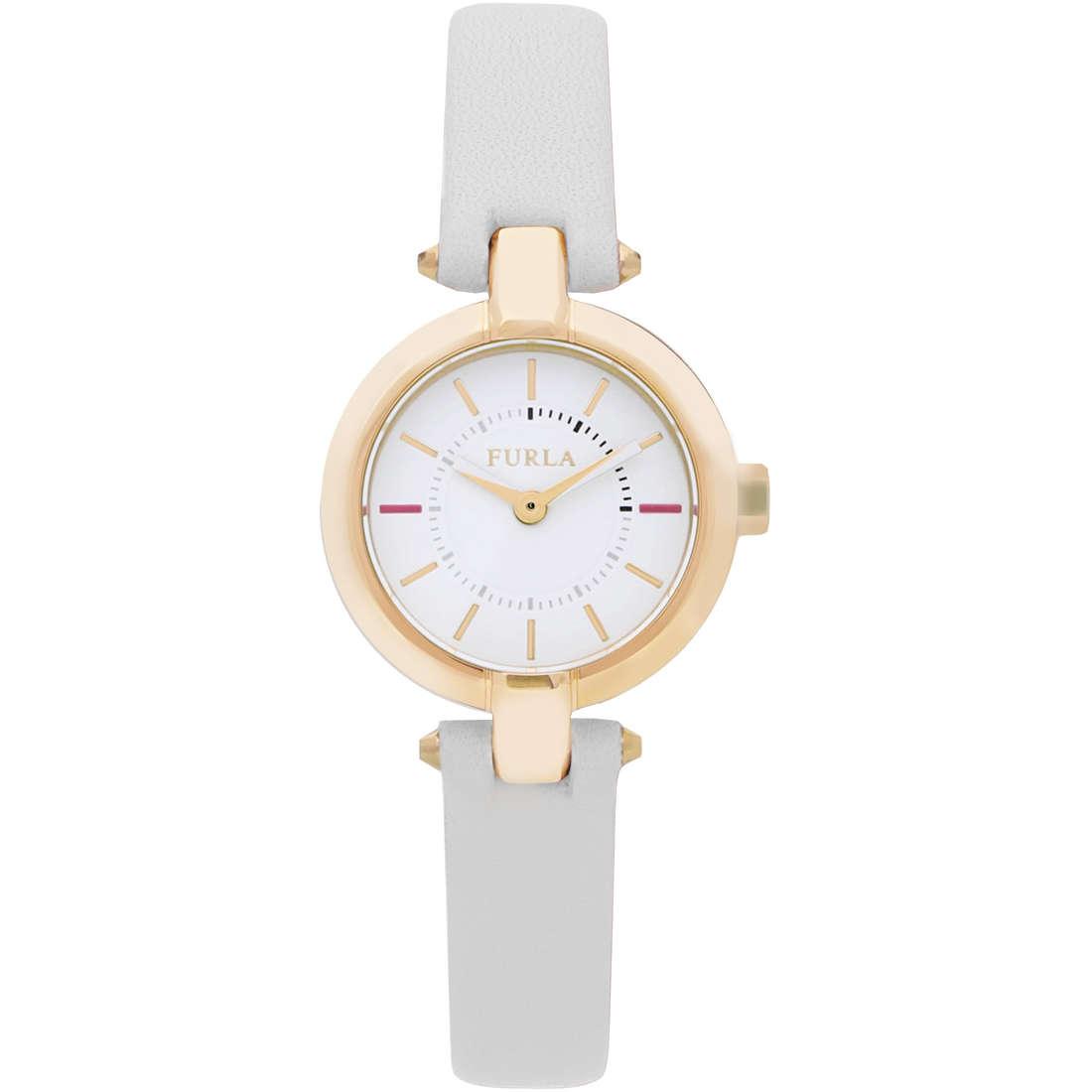 orologio solo tempo donna Furla Linda R4251106502