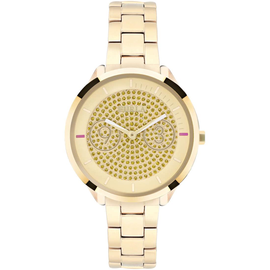 orologio solo tempo donna Furla Metropolis R4253102506