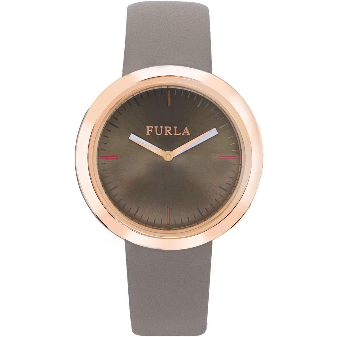 orologio solo tempo donna Furla Valentina R4251103502