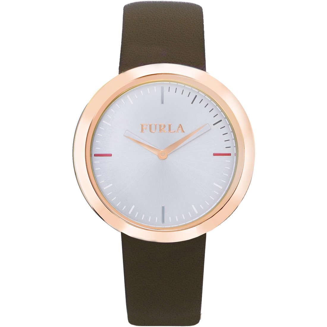 orologio solo tempo donna Furla Valentina R4251103503