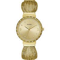 orologio solo tempo donna Guess Chiffon W1083L2