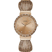 orologio solo tempo donna Guess Chiffon W1083L3