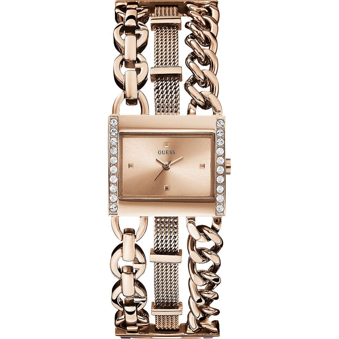 orologio solo tempo donna Guess HARMONY W0433L3