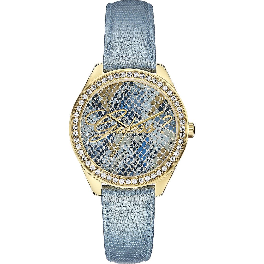 orologio solo tempo donna Guess Ice Blue W0612L1