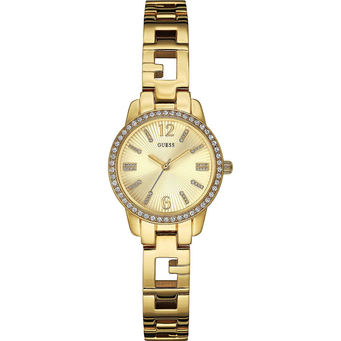 orologio solo tempo donna Guess Ladies Blue W0568L2