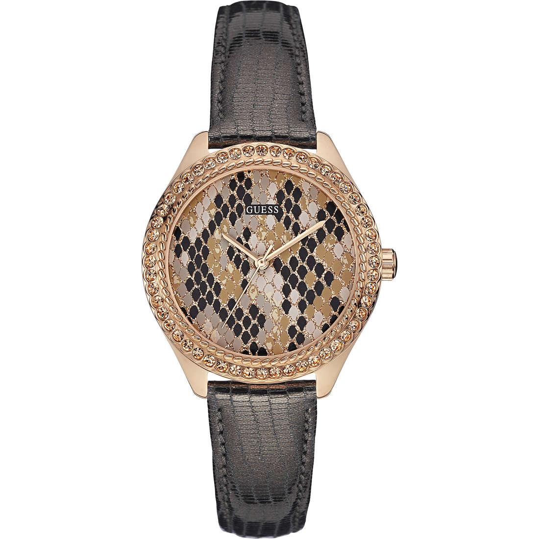orologio solo tempo donna Guess Mini Mystical W0626L2