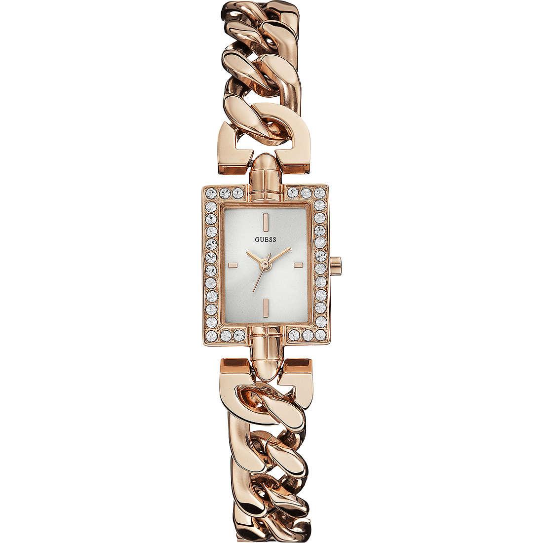 orologio solo tempo donna Guess Rose Gold W0540L3