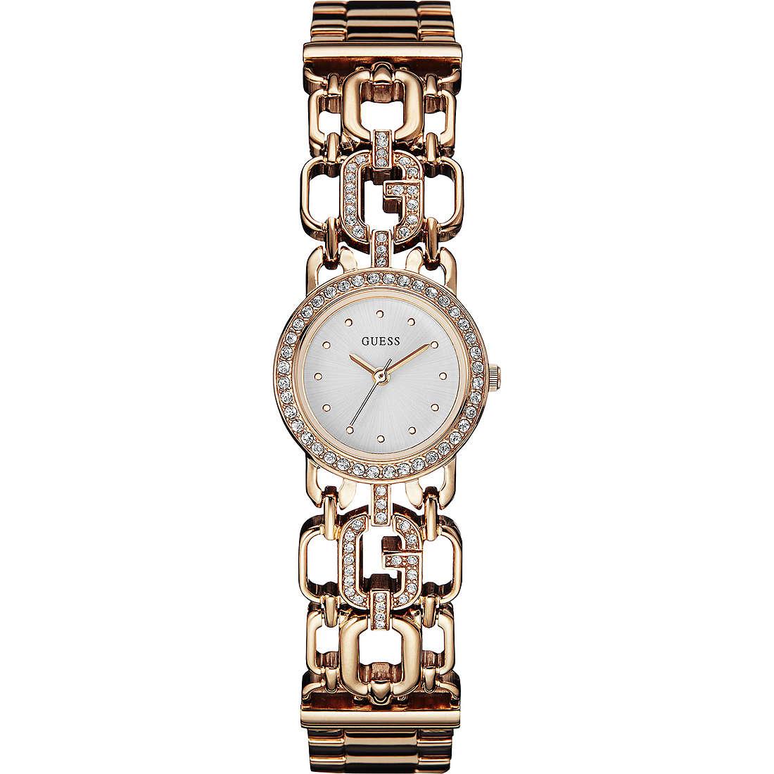 orologio solo tempo donna Guess Rose Gold W0576L3