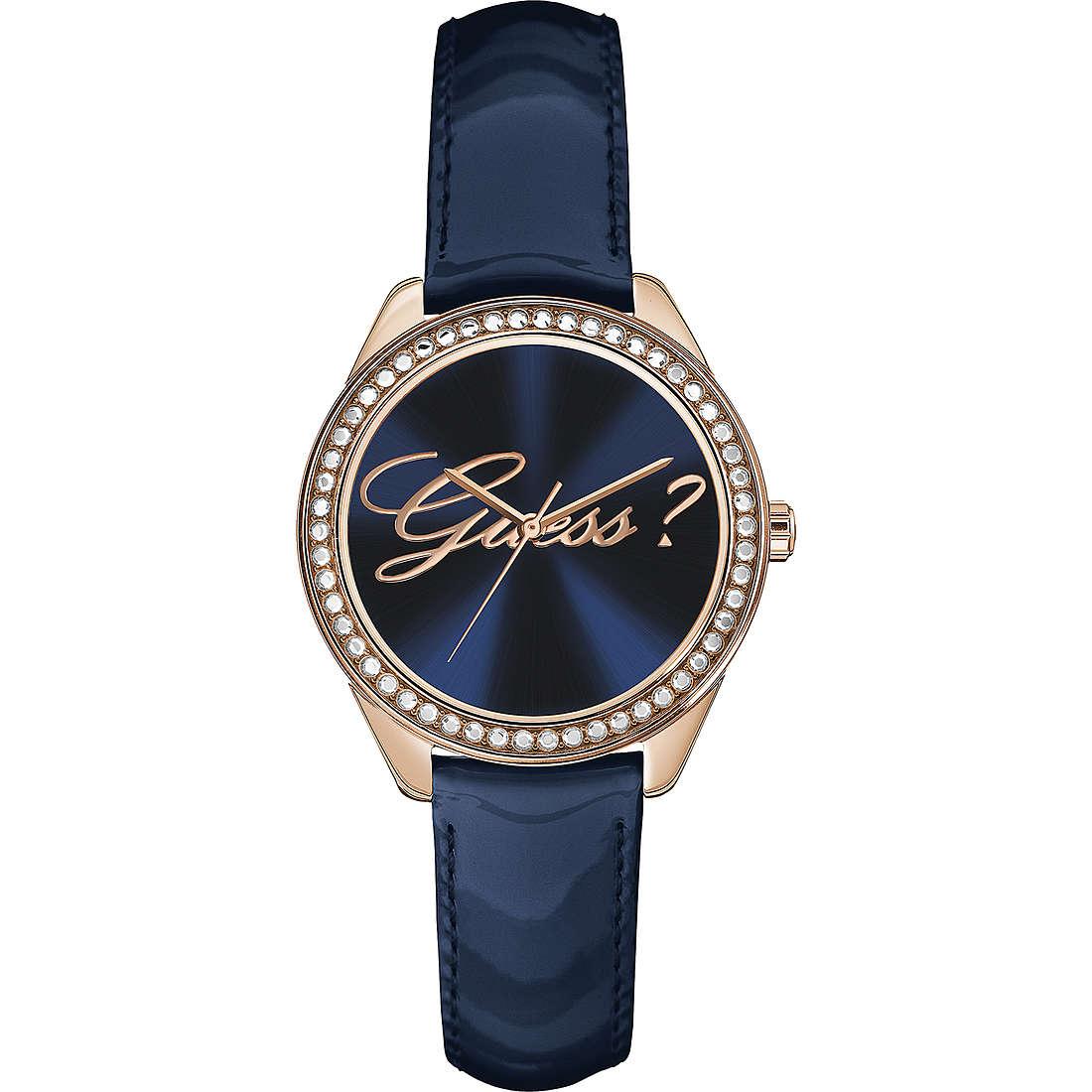 orologio solo tempo donna Guess Rose Gold W0619L2