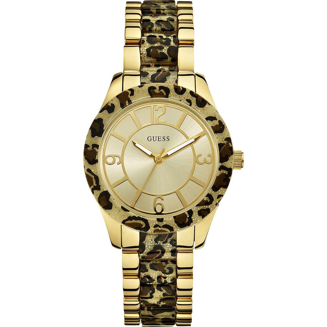 orologio solo tempo donna Guess Settembre 2013 W0014L2