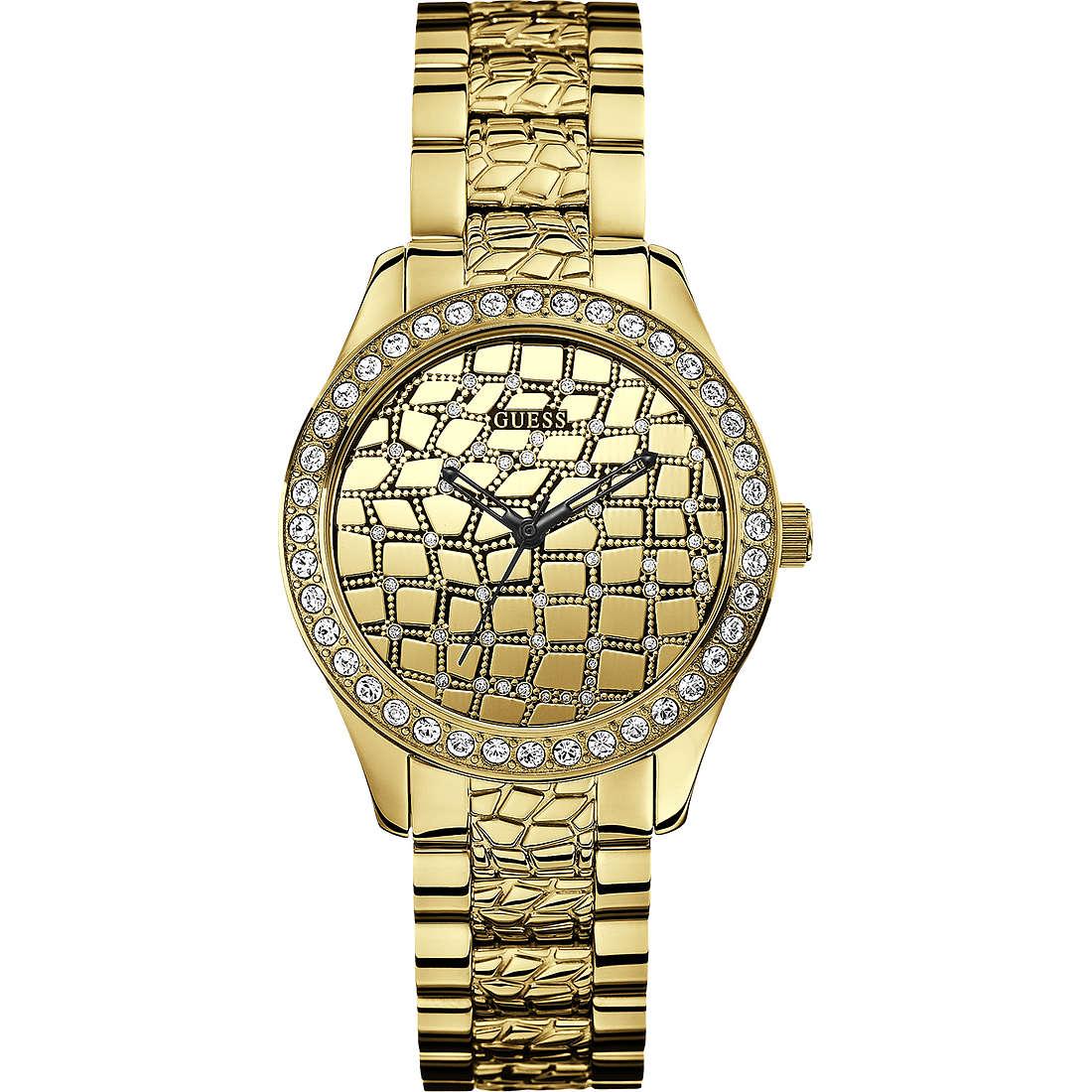 orologio solo tempo donna Guess Settembre 2013 W0236L2