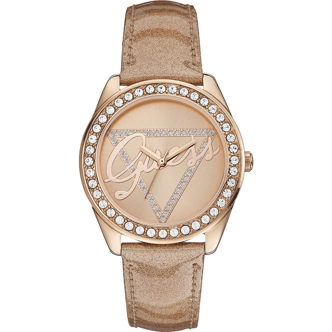 orologio solo tempo donna Guess Time To Give W0023L4