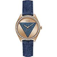 orologio solo tempo donna Guess Tri Glitz W0884L7