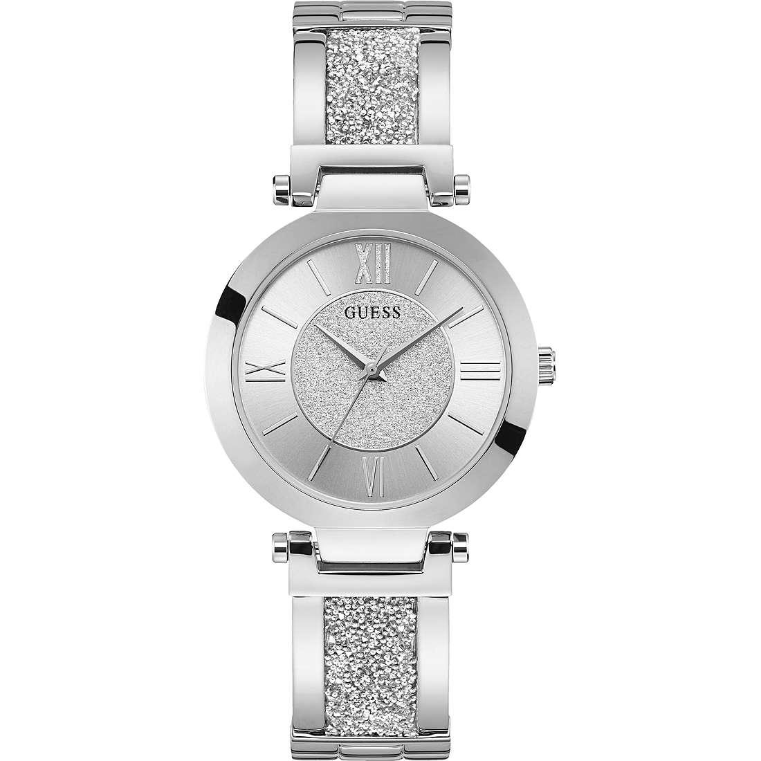 Guess Ladies Trend Orologio Silver Donna Argento Borse