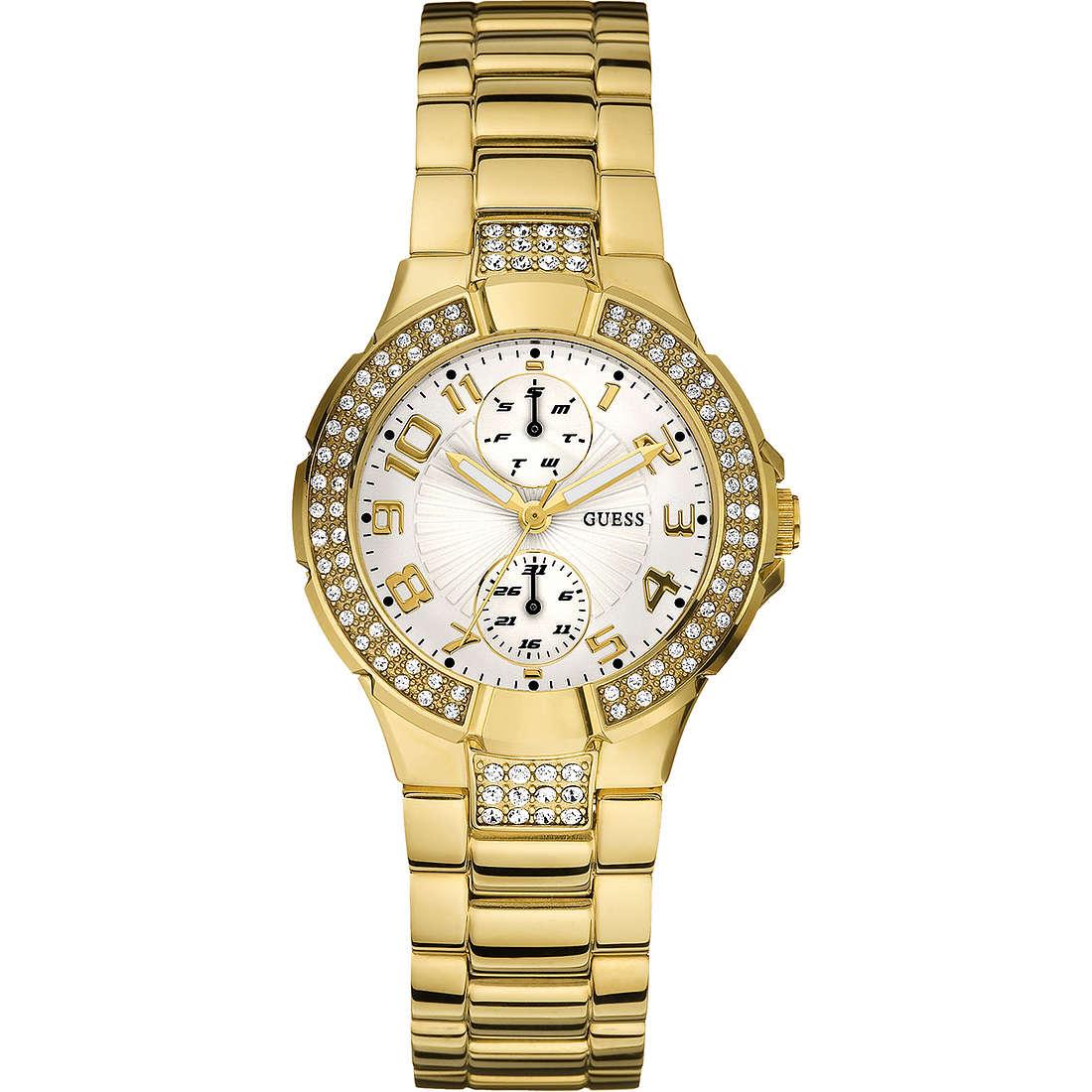 orologio solo tempo donna Guess W15072L1