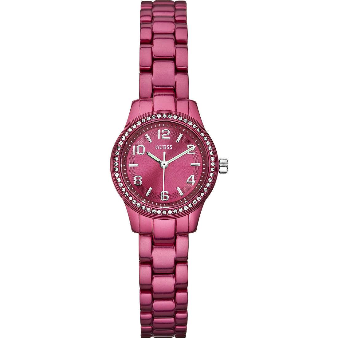 orologio solo tempo donna Guess W80074L1