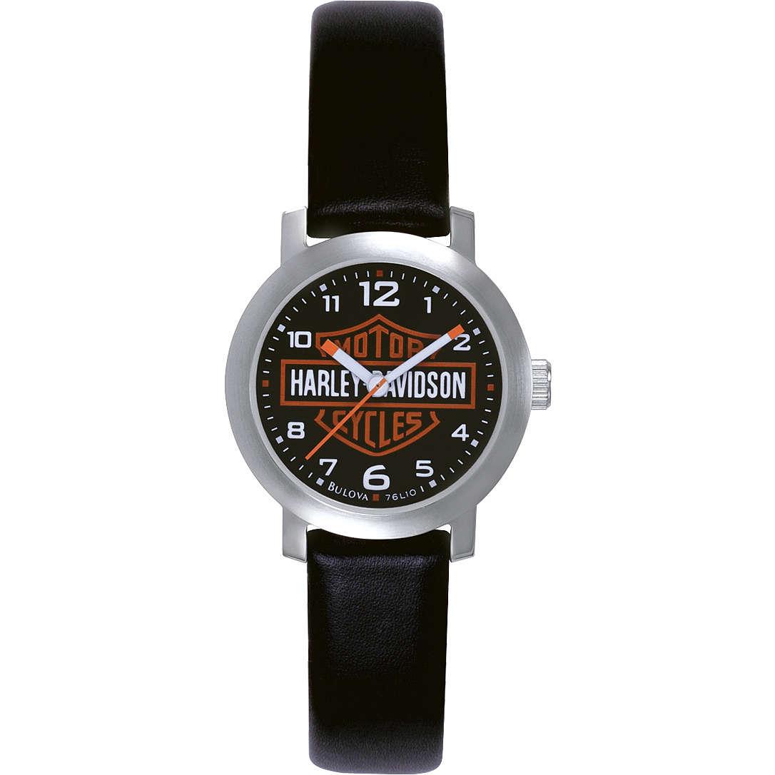 orologio solo tempo donna Harley Davidson 76L10