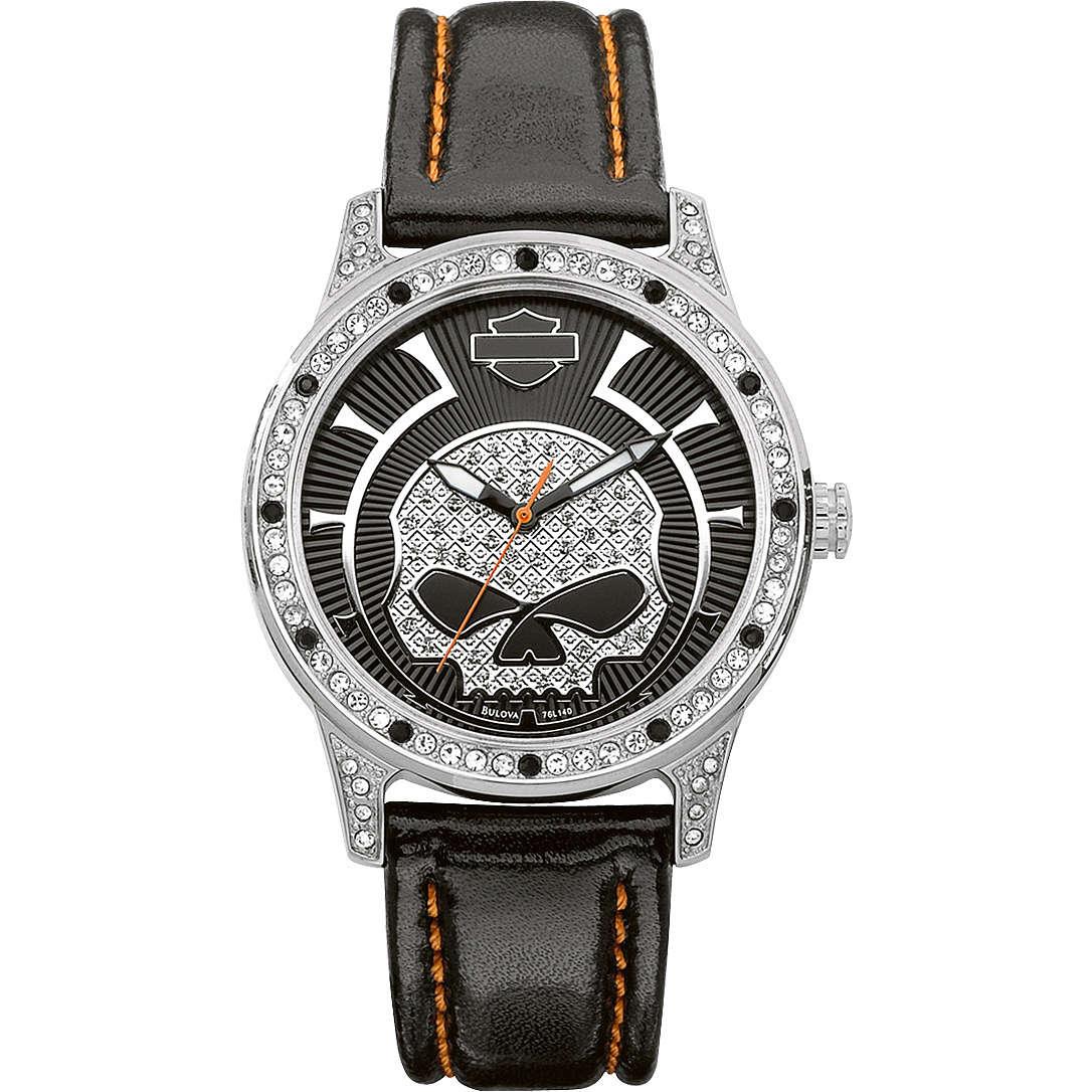 orologio solo tempo donna Harley Davidson 76L140