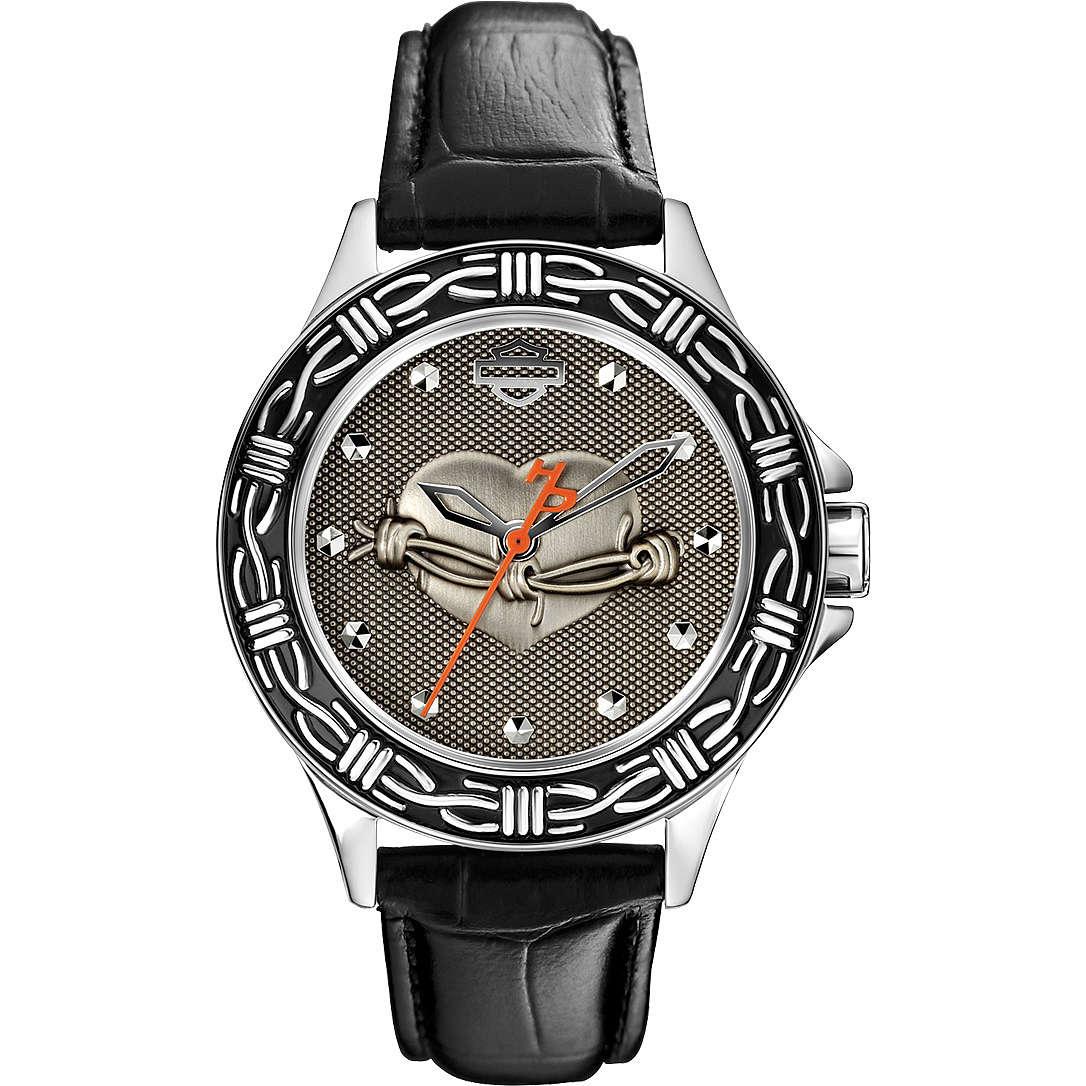 orologio solo tempo donna Harley Davidson 76L165