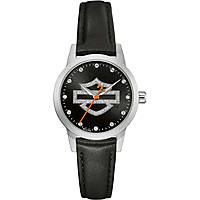 orologio solo tempo donna Harley Davidson 76L181