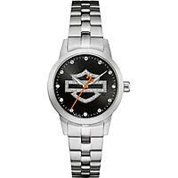 orologio solo tempo donna Harley Davidson 76L182