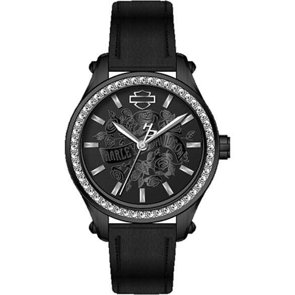 orologio solo tempo donna Harley Davidson 78L119