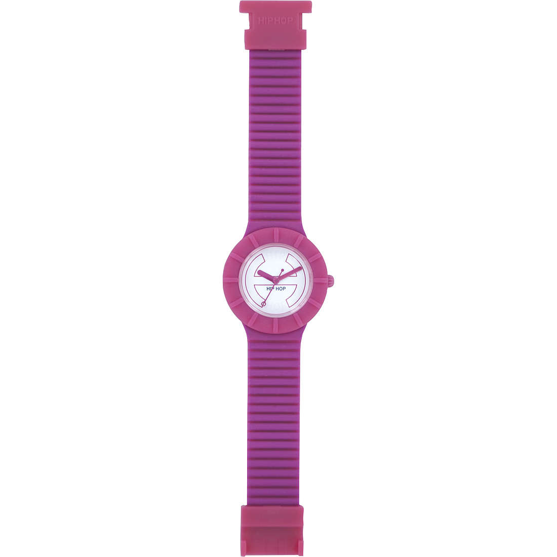 orologio solo tempo donna Hip Hop Bicolor HWU0224